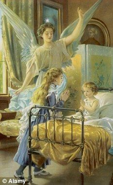 Guardian angel. For My Special Grandchildren - Mike & Lily, may you always believe in Angels.....