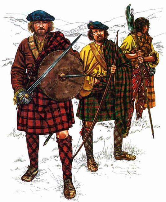 """The English Civil War 1642-1651: Highlanders"""