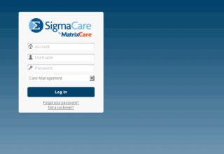 sigmacare log in
