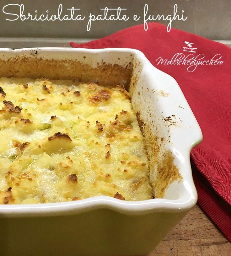 La sbriciolata patate e funghi è un secondo piatto ricco e saporitissimo, se amate i funghi e volete un piatto completo che piaccia a tutti, questa è...