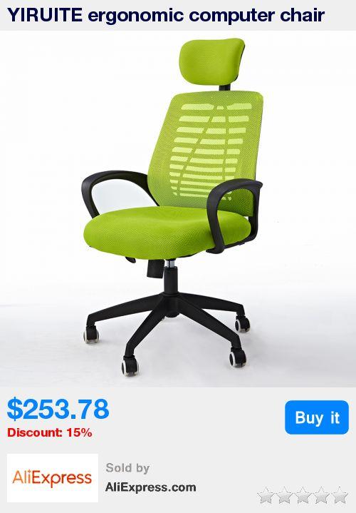 YIRUITE ergonomic computer chair office meeting chair swivel lift chair * Pub Date: 19:39 Apr 12 2017