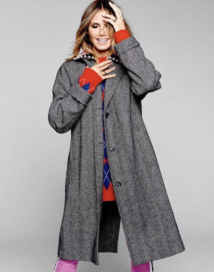 Heidi Klum Shows Off Her Moves in Harper's Bazaar Singapore