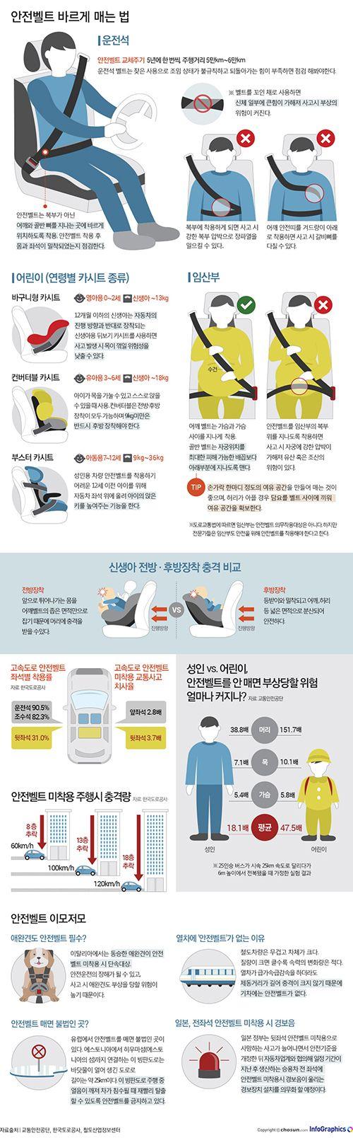 안전벨트를 복부에 착용?… 올바른 안전벨트 착용법 따로 있다