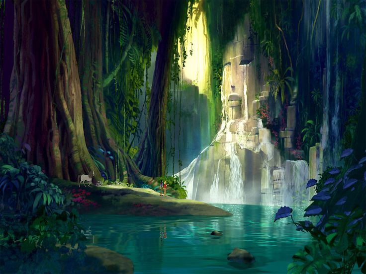 Road to El Dorado - Backgrounds ★ || *Please support the artists and studios featured here by buying this and other artworks in their official online stores •