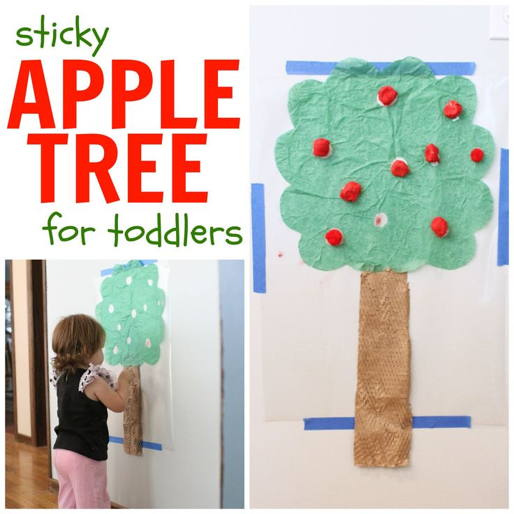 This Sticky Apple Tree for Toddlers is not only a fun activity but a great way to encourage fine motor practice and hand-eye coordination.