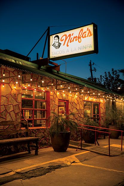 Houston's original Ninfa's founded in 1973. Photo Credit: Peden + Munk.