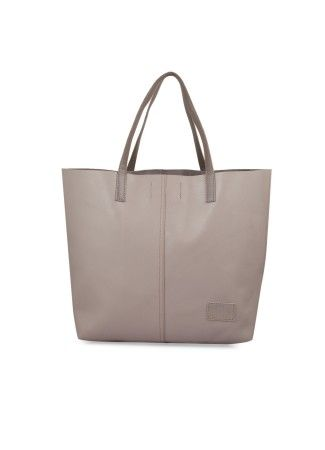 Grey Shopper Bag Online at Thia -  Grey Shopper Bag Rs. 2,200.00  Availability: In stock      Description     Additional Information     Comments  100 % Real Leather Simple and sophisticated shopper bag for everyday use Crafted in leather and has 2 handles to carry the bag Without lining and spacious