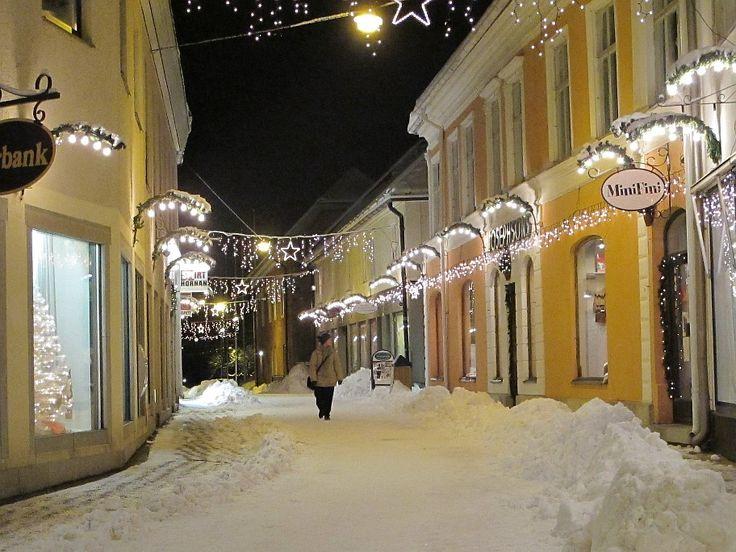 De compras por Vadstena