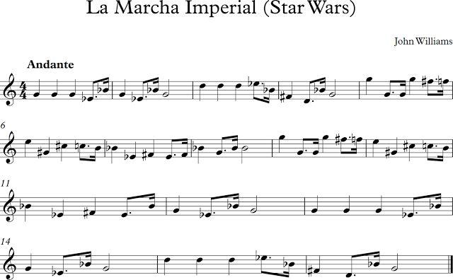 La Marcha Imperial (Star Wars)