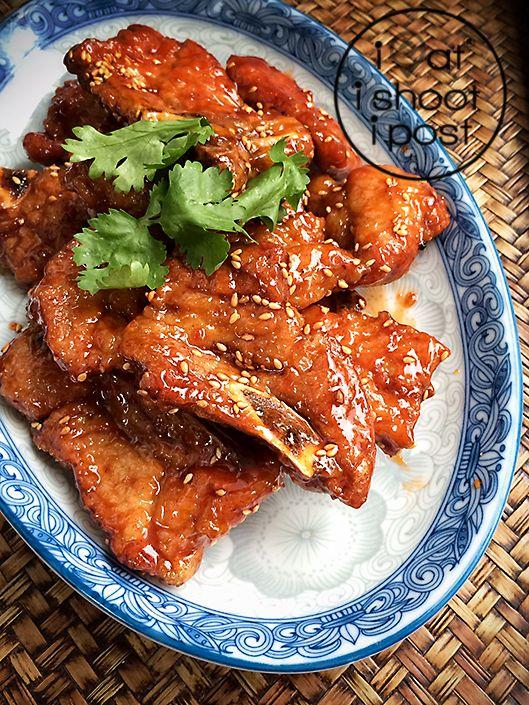 京都排骨 Jin Du Pai Gu (Kyoto Pork Ribs) Recipe | ieatishootipost