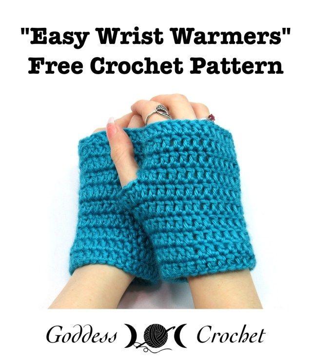 25+ best ideas about Wrist warmers on Pinterest Crochet ...