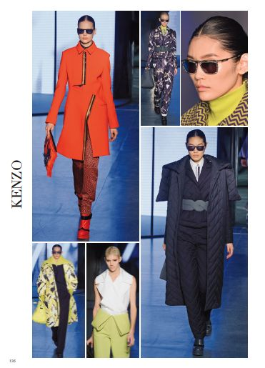 Kenzo, new optical. #kenzo @KENZO  #pretaporter #fashion #catwalk #style #look #fashionshow #paris #fall #winter #2014 #2015