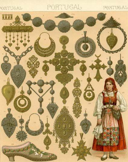 Portuguese jewelry 1876