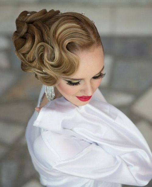 Hot Finger Wave Prom Hairstyles 2015 | Full Dose