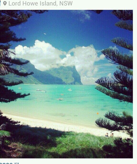 Lord Howe Island Beaches: Lord Howe Island, Australia