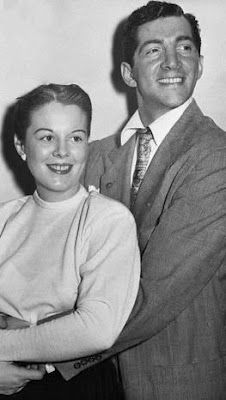 Dean Martin and his first wife Elizabeth Anne McDonald whom he divorced on March 23, 1949. Betty was the mother Dean's first four kids: Stephen Craig (born June 29, 1942), Claudia Dean ( born March 16, 1944), Barbara Gail (born April 11, 1945) and Deana (Dina) (born August 19, 1948)