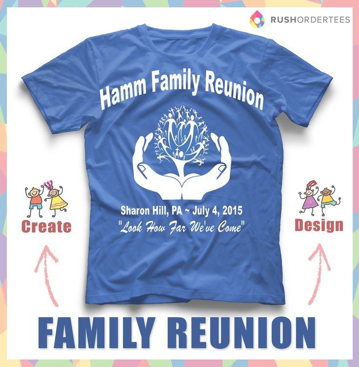 Family Reunion T Shirt Ideas Create Your Custom Family