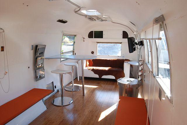 Airstream interior by cutleroke, via Flickr WANTS