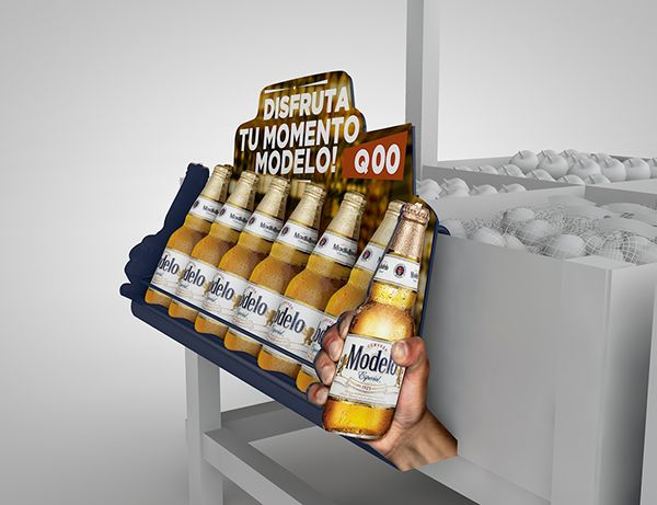 CAMPAÑA SHOPPER MARKETING CERVEZA MODELO on Behance