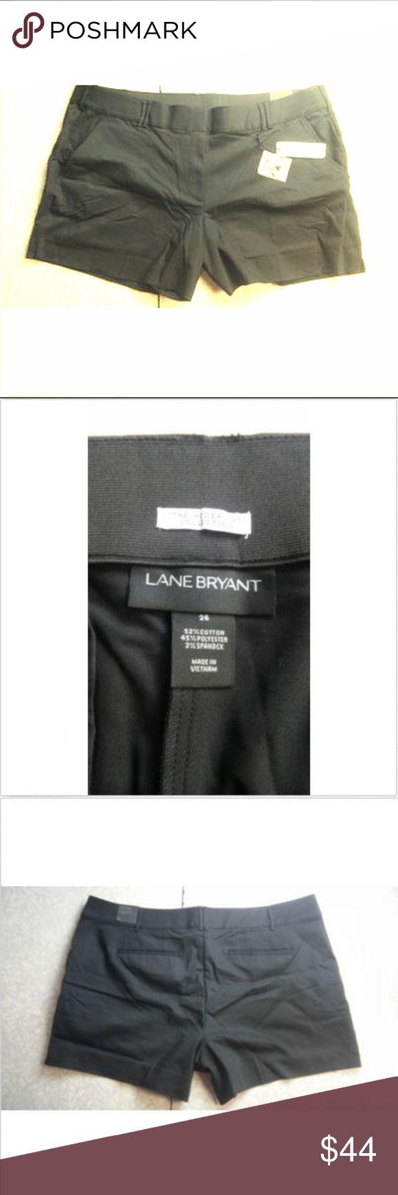 Lane Bryant ~ Black Lena Shorts Women's Size 26 Lane Bryant ~ Black Lena Shorts ...