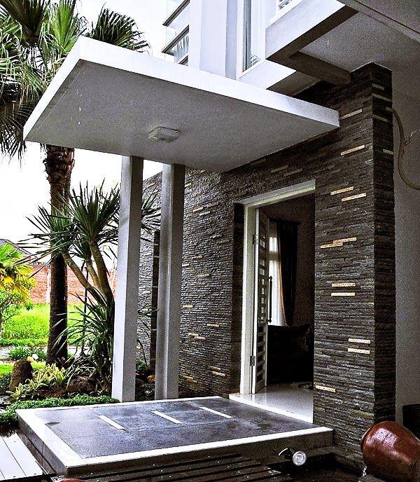 contoh teras rumah minimalis elegan