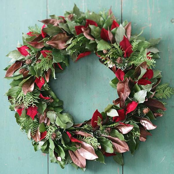 best 25+ fresh christmas wreaths ideas only on pinterest | gold