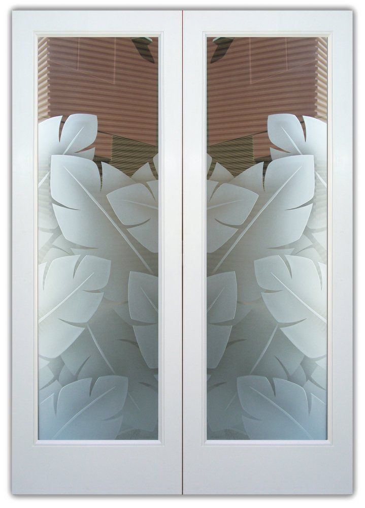 Banana Leaves 3d Double Entry Doors Hand Crafted