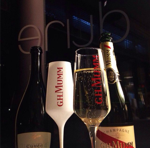 Mumm Champagne @ Dune Restaurant Cafe Lounge in Mielno