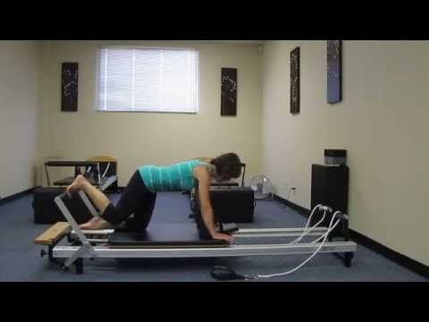 Booty Burn on the Pilates Reformer - YouTube