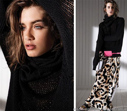 Faldas de moda 2015. Sweaters de moda 2015. María Cher primavera verano 2015 colección.