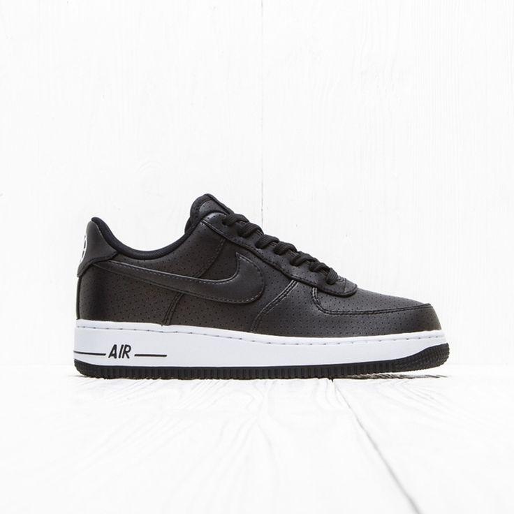 Nike Nike Air Force 1 07 Lv8 Bold Black/White Black 718152 014 Size 11.5 $192 - Grailed