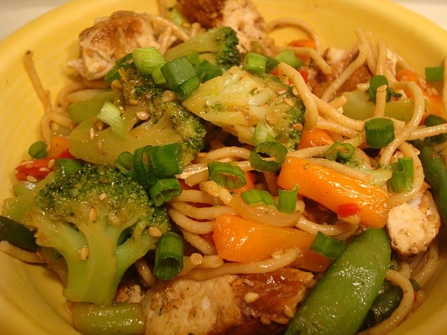 asian chicken stirfry