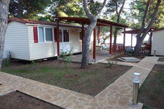 Camping Rozac - Mobilhome 2 slaapkamers airco - Kroatie, Dalmatië | Vakantie24.nl