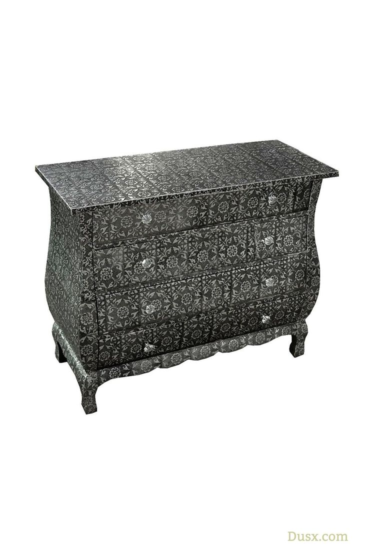 best 10 drawers for sale ideas on pinterest dresser sale chest chaandhi kar blackened silver metal embossed 4 drawer chest of drawers for sale at