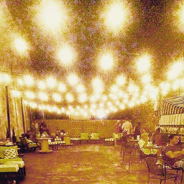 The terrace of a thousand sunshine-minis. #sole#shine#downtown#augusta#georgia #themasonjars#musical#porch #lights#sunshine#minis #goodtimes#titalatingtunes#akwardmoment#greatbar#greatbarrierreef#nightlife#nightlights @localkinesis @downtownaugustaga @soleaugusta by cavemanmitch http://ift.tt/1UokkV2