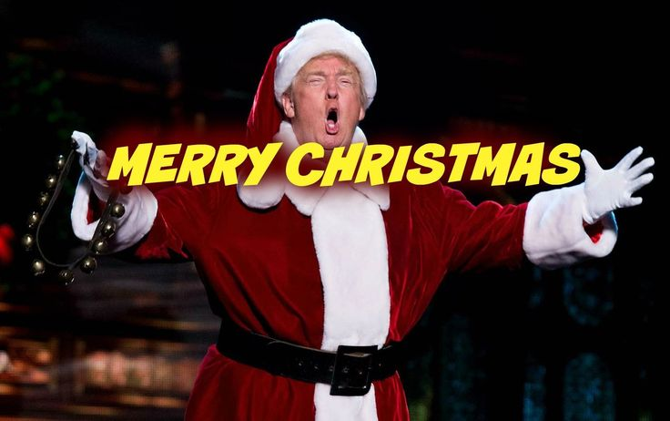 "Trump is bringing ""Merry Christmas"" back big league maga"