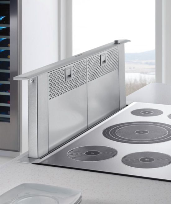 Downdraft Ventilation for Cooktops & Stovetops