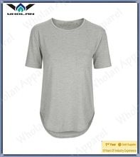 100% Soft Cotton Custom Plain Jersey Pocket Tee shirt Women Casual Tshirt China  best buy follow this link http://shopingayo.space