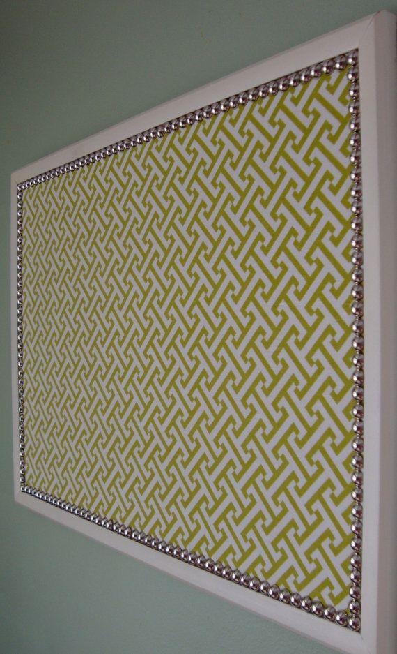 25 best ideas about fabric bulletin boards on pinterest for Pretty bulletin board