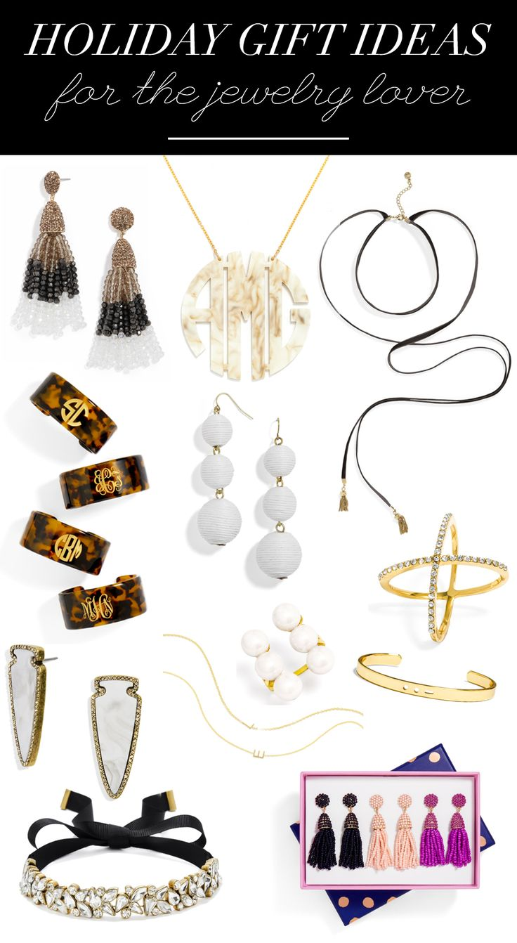 Holiday Gift Ideas For Her | Holiday Gift Ideas For The Jewelry Lover | Christmas Gift Ideas | Holiday Gift Guide For Women