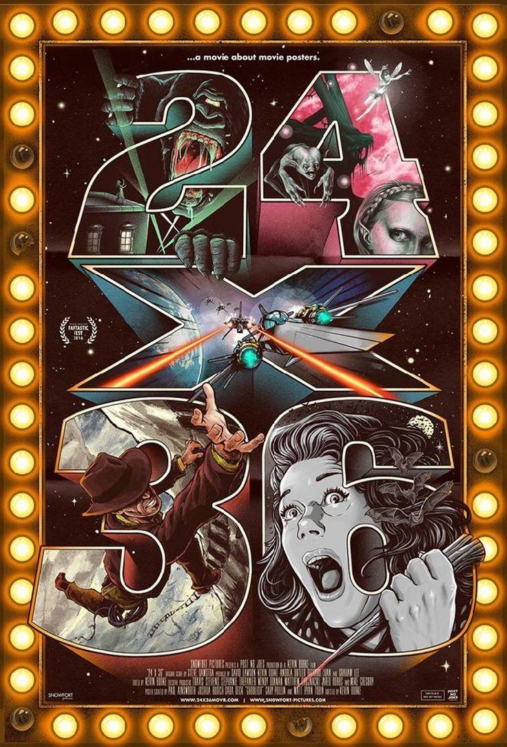 インターネットが発達するよりもっと昔、観客は映画館に貼られていた数カ月後に公開されるであろう映画のポスターを見ることで新作情報を手に入れていました。今回はそういった映画ポスターを主役にしたドキュメンタリー映画「24x36: A Movie About Movie Posters」の予告をご覧ください。