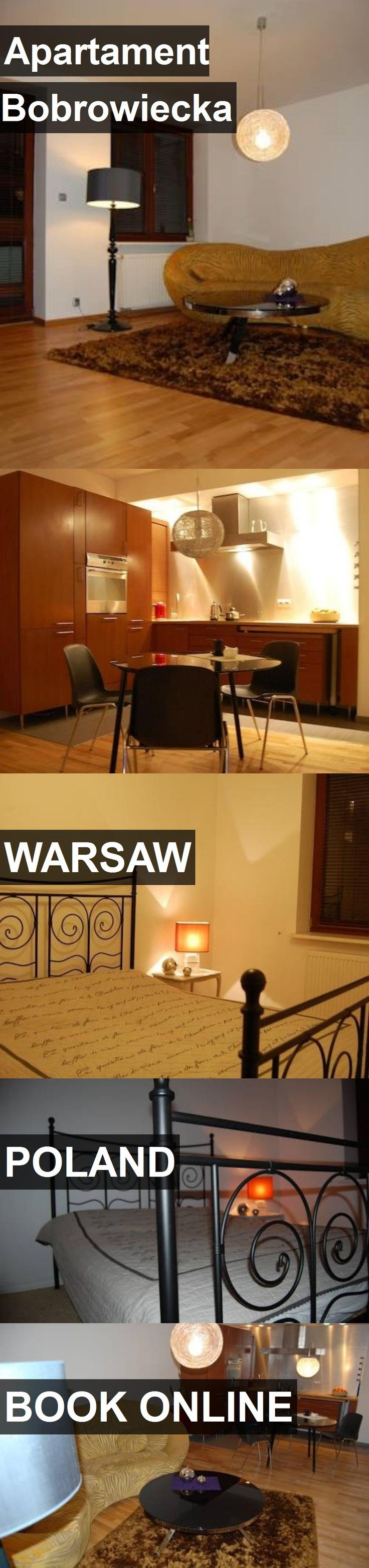 Hotel Apartament Bobrowiecka in Warsaw, Poland. For more information, photos, reviews and best prices please follow the link. #Poland #Warsaw #ApartamentBobrowiecka #hotel #travel #vacation