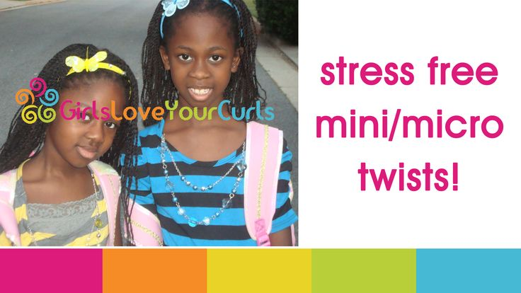 Mini Twists Natural Hair Crowns Kids Pinterest