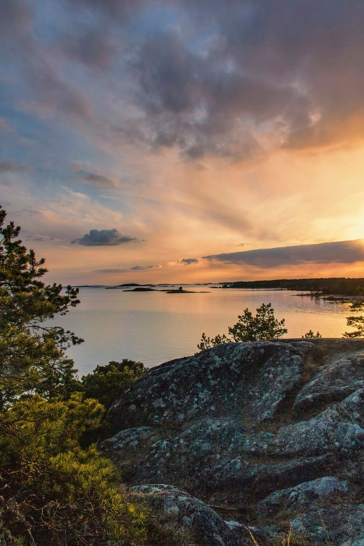 Harmony with nature part II - Beautiful place in Högholmen rock island, Hanko