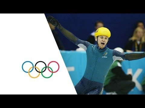 The Most Unexpected Gold Medal In History - Steven Bradbury | Salt Lake 2002 Winter Olympics // My roommate was telling me about this. Apparently it was an actual thing.