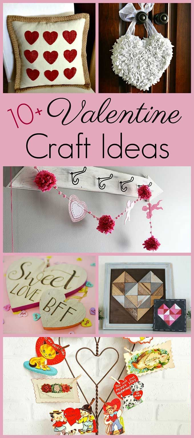 10 Simple Valentine S Day Crafts Valentine Crafts Valentine