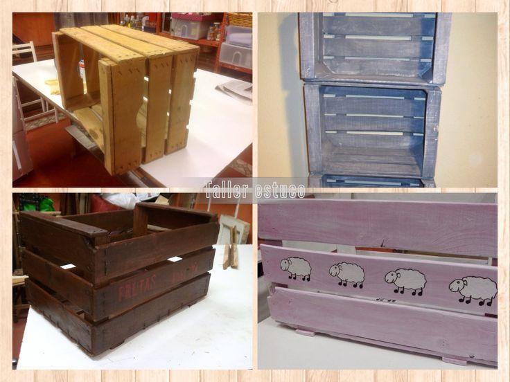 66 best images about cajas de frutas decoradas on - Cajas de fruta decoradas ...