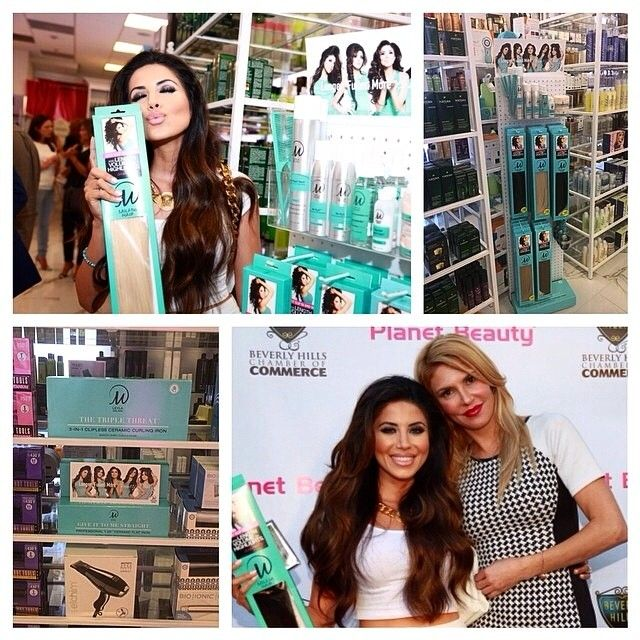 51 best leyla milani hair extensions images on pinterest planetbeautyofficial regram from leylamilani at our grand opening vip event last night with pmusecretfo Gallery