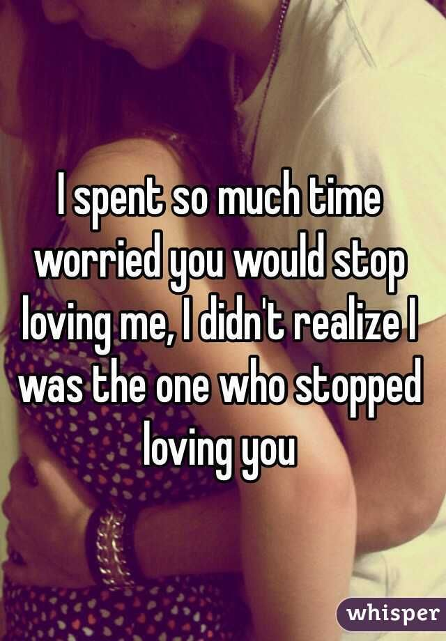 Whisper App.  Confessions on falling out of love.