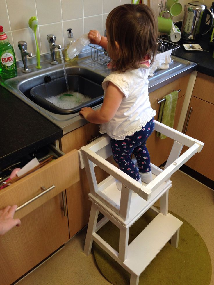 Learning Tower Ikea Little Helper Stool Sd Toddler With